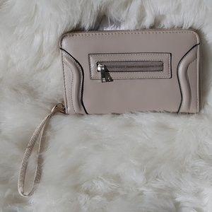 Handbags - Mauve clutch